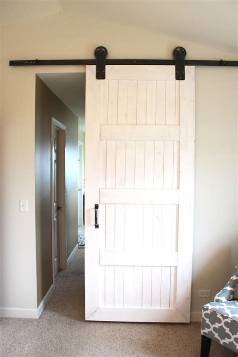 Bedroom Barn Doors Diy Barn Door For A Master Bedroom Colors And Craft