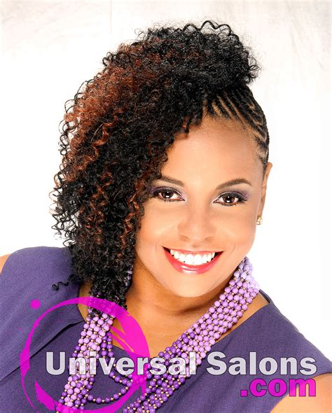 natural hair stylist in md trendy hairstyles in the usa natural extensions with cornrows from temi roberts