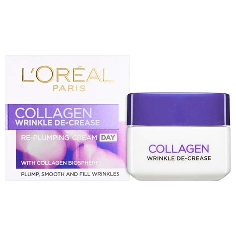 Collagen Loreal l oreal dermo expertise wrinkle decrease collagen re