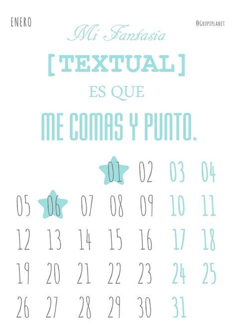 L Calendario 2015 Calendario Para Imprimir Que El 2015 Ya Est 225 Aqu 237 Enero