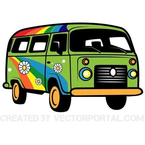 volkswagen hippie van clipart hippie van vector graphics download at vectorportal