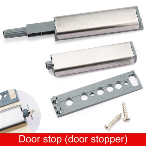 kitchen cabinet door stoppers 20 27day delivery push to open system kitchen cabinet drawer buffer door stop soft quiet