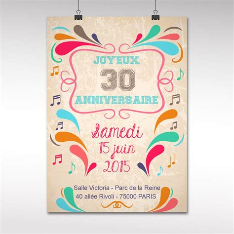 modele lettre anniversaire 30 ans gratuit