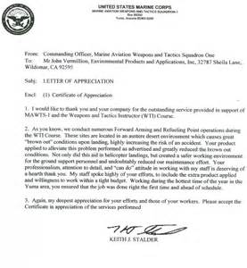navy letter of appreciation template best photos of usmc letter of appreciation usmc letter