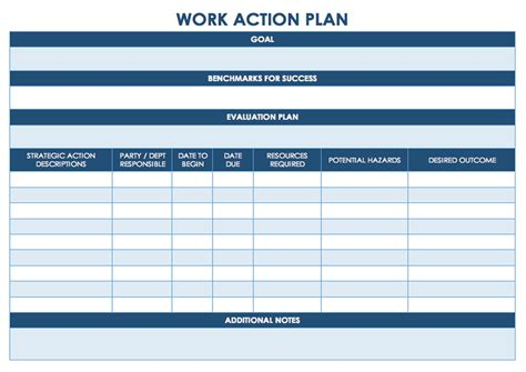 plan template pdf task management template worksheet calendar printable