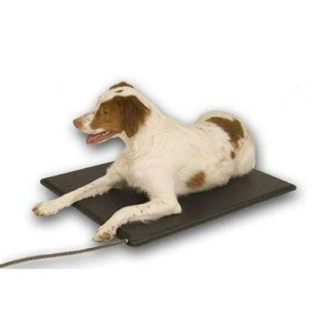 outdoor heated dog bed outdoor kennel heated dog mat k h lectro kennel bed med ebay