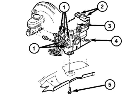 repair anti lock braking 2005 dodge durango lane departure warning repair guides anti lock brake system hydraulic control unit autozone com
