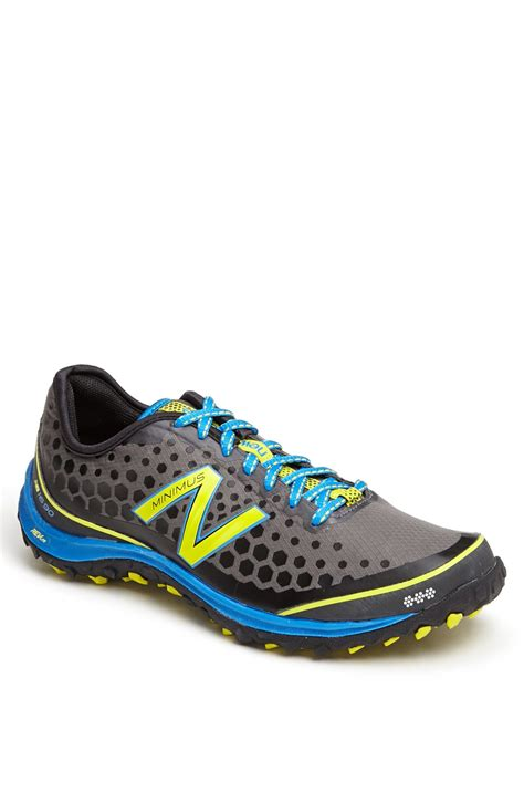 new balance minimus trail running shoes new balance minimus trail running shoe in green for