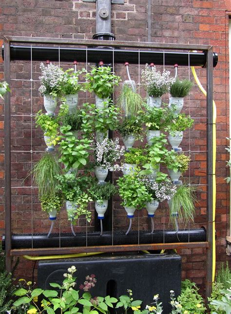 Vertical Garden Materials Vertical Garden Diy Project For The Beautiful And