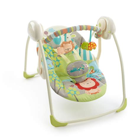 bright starts hybridrive baby swing manual bouncer baby seat infant vibrating chair swings rocker