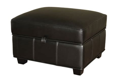 square storage ottoman contemporary black leather square storage ottoman