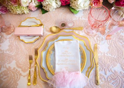 Baby Shower Place Setting Ideas by Kara S Ideas Pink Quot Tutu Quot Ballerina Baby Shower