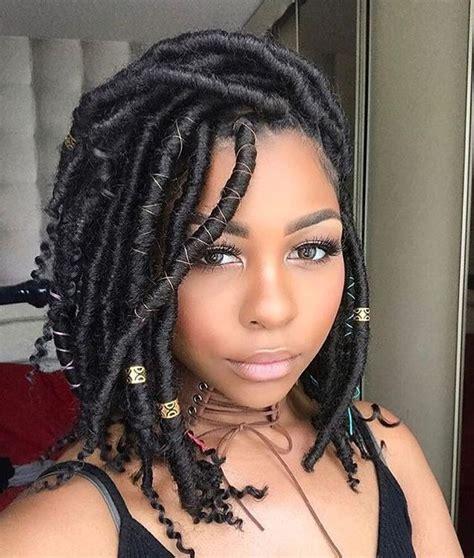 locs hair medium length bob hairstyles 40 goddess locs styles 40 ways to style goddess locs
