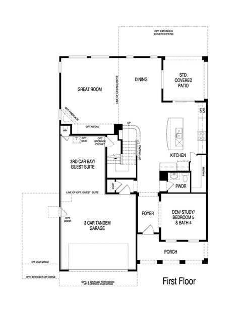 32 best pulte homes floor plans images on real