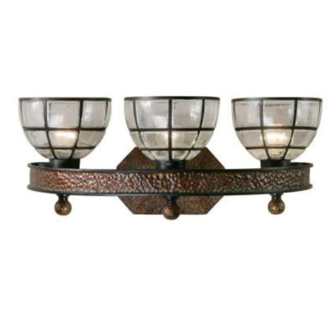 Wrought Iron Vanity Lights Gelati 3 Light Wrought Iron Vanity Discontinued 22861 The Home Depot