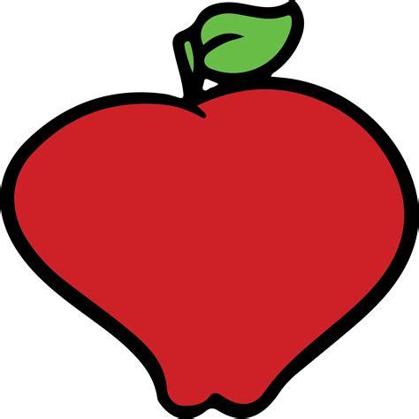imagenes vectoriales mac clipart red apple
