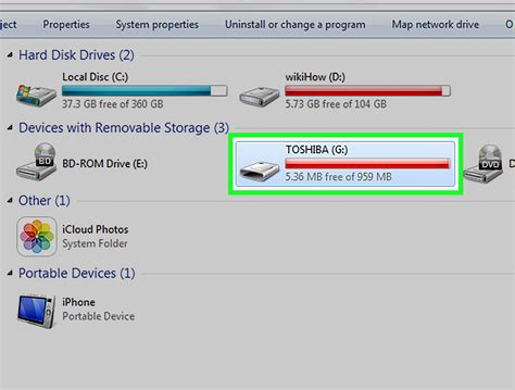 Removable Disk how to use a removable drive as ram windows vista and 7 5 steps