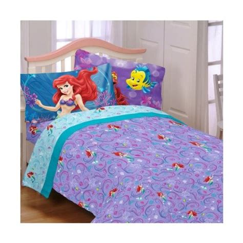 Ariel Comforter by How To Create The Disney Princess Bedroom
