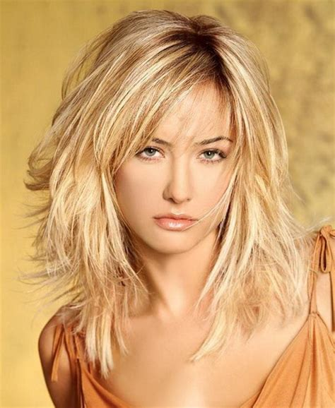 easy to care for layered hairstyles medium length layered hairstyles 2014