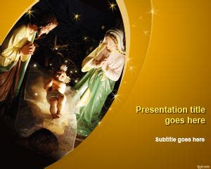 Free Nativity Powerpoint Templates by Free Powerpoint Templates Free Powerpoint