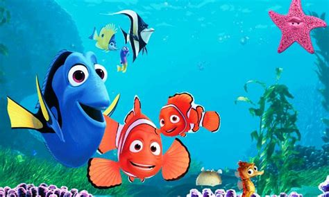 wallpaper animasi nemo gambar ikan nemo related keywords suggestions gambar