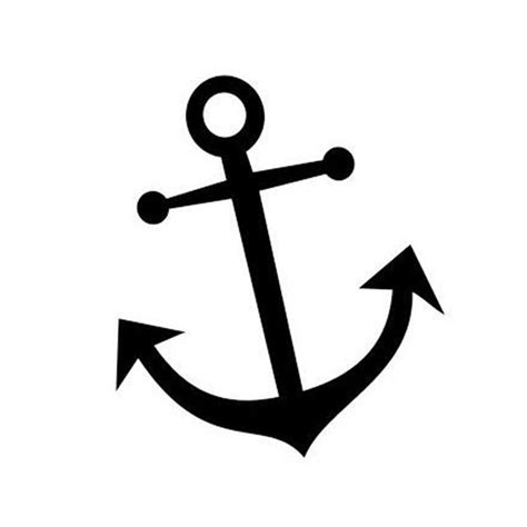 12 5 15cm anchor car sticker decals nautical navy ocean