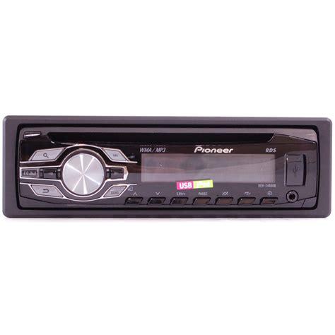 Single Din Cd Player Usb Mp3 Pioneer Deh X1950ub pioneer deh 2400ub single din in dash cd mp3 wma car stereo receiver w ipod usb