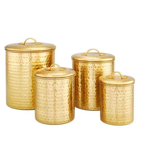 home depot canister lights 4 decor chagne quot hammered quot storage