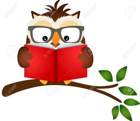 owl reading book best owl reading clipart 21051 clipartion com