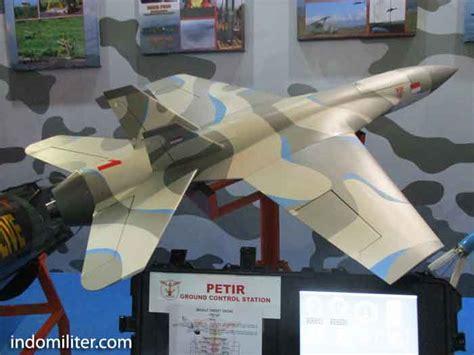 Sticker Drone Xiro Loreng Biru petir direvisi dari rudal jelajah ke target drone indomiliter
