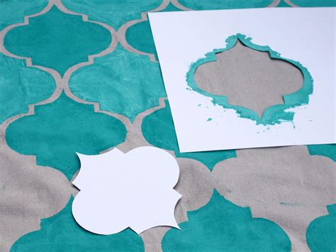 fabric paint for rugs how to stencil paint an outdoor rug how tos diy