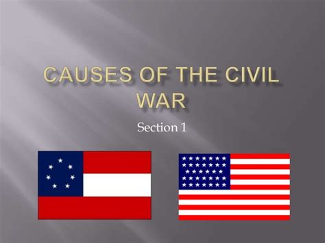 sectionalism leading to the civil war tensions leading to the american civil war