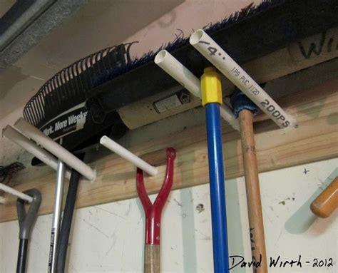 shovel hanger garage