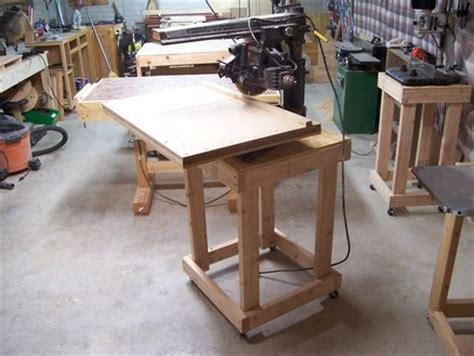 radial arm saw bench mortiser and radial arm saw stands by brian024