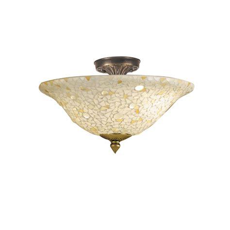tiffany flush mount ceiling light dale tiffany ceiling lights mosaic semi flush mount 8565