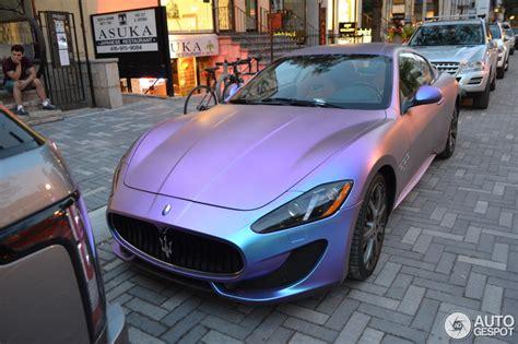 maserati purple maserati granturismo sport 13 december 2015 autogespot