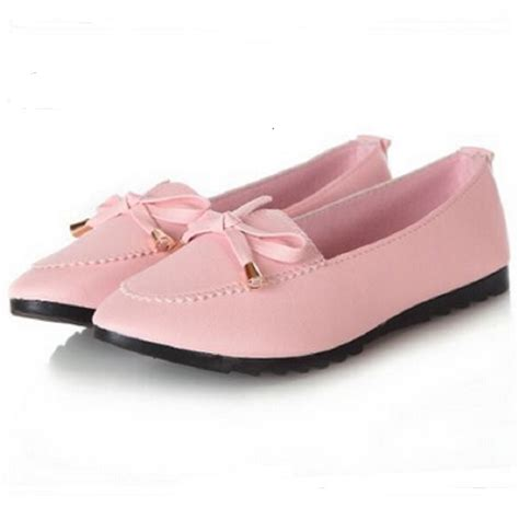 stylish flat shoes for shoes trendy casual flat heel bow knot toe