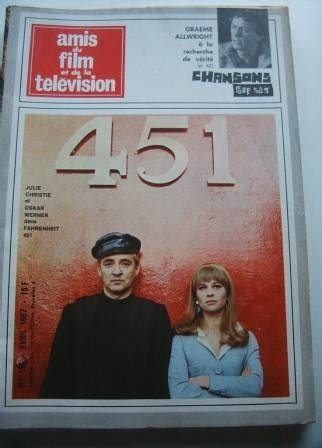 Cristie Original 67 vintage mag 1967 julie christie oskar werner on cover