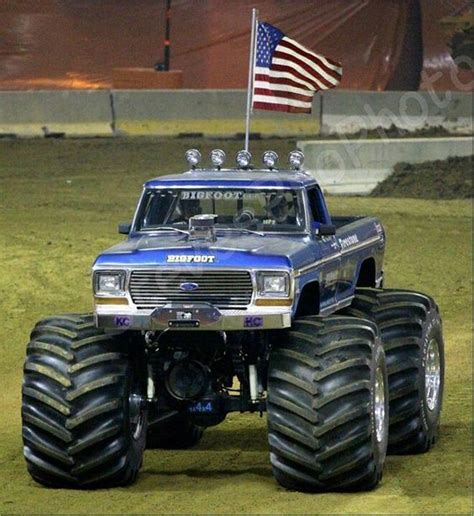 bigfoot monster truck st love this shot bigfoot the 1st monster truck