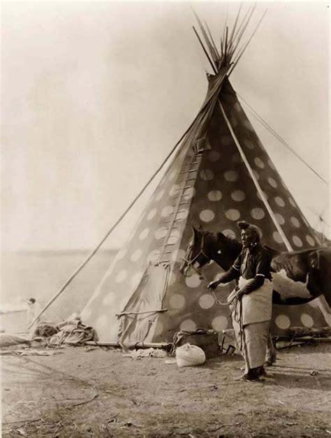 tenda indiana blackfoot tepee