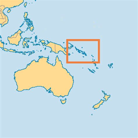 solomon islands map solomon islands operation world