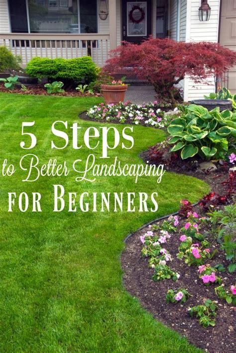 backyard gardening for beginners best 25 easy landscaping ideas ideas on pinterest yard