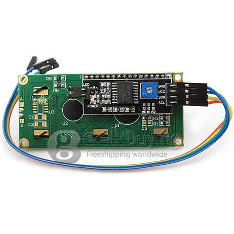 Lcd1602 Lcd 1602 Yellow And Green Screen With Backlight Lcd Display i2c iic lcd 1602 arm yellow green display module for