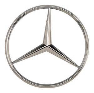 Mercedes Emblem Oes Genuine Mercedes Trunk Emblem Exterior