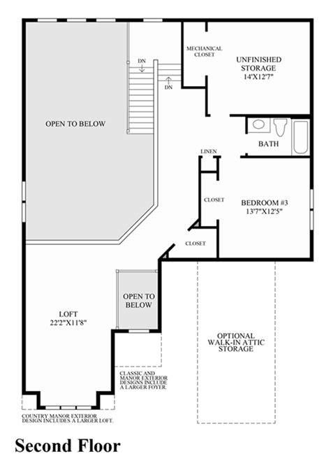 barrington floor plan