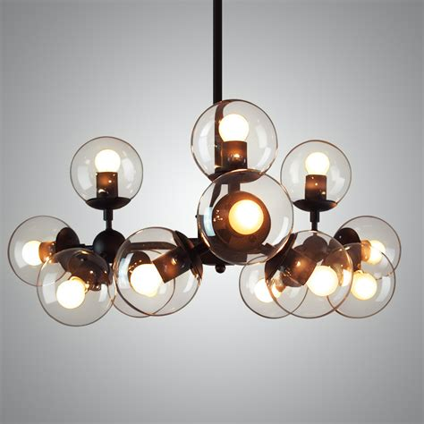 Lu Lu Cafe Lu Natal Bulb american style pendant light with bulbs glass vintage restaurant luminarias lighting bar coffee