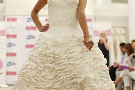 design a dress contest 2015 and the winner of the toilet paper wedding dress contest