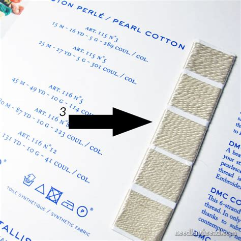 Dmc Floss Card Template by All About Real Thread Color Cards Needlenthread