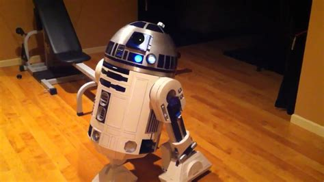 real r2d2 robot for sale full size r2 d2 fully functional youtube