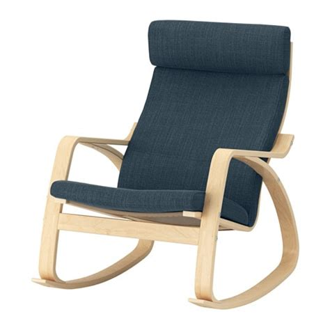 poang rocking chair cover po 196 ng rocking chair hillared blue ikea